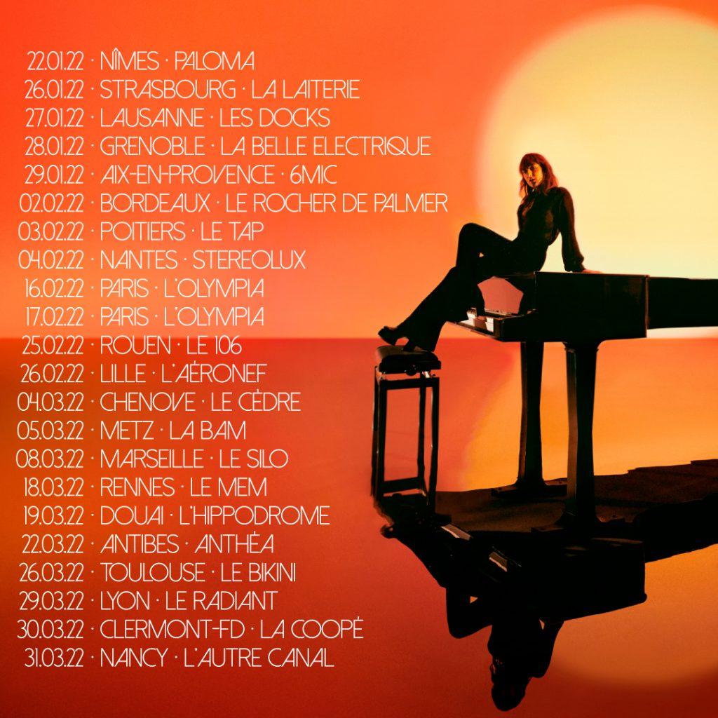 Date de la tournée de Juliette Armanet